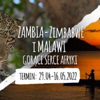 Wyprawa Zambia Zimbwe Malawi